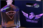 Commemorative bottle and bag